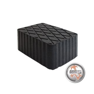 4 Gummiauflagen 160x120x80 mm f/ür Hebeb/ühnen