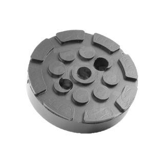 Gummiauflage Gummiteller Hebebühne 120 mm Heshbon Powerrex