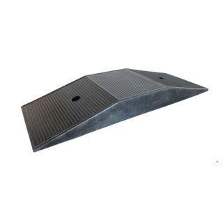 Auffahrrampe, Gummiplattform für tiefergelegte Fahrzeuge  690 x 260 x 80 mm