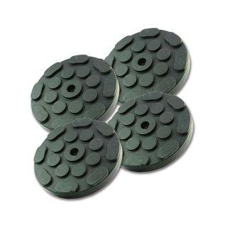 Gummiauflage, Gummiteller D:120 mm mit Metallscheibe für Hebebühnen 1Satz/4 Stck