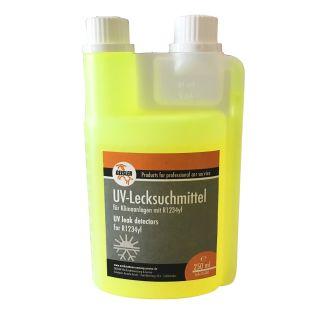 UV Kontrastmittel Lecksuchmittel für Klimaanlagen mit HFO1234yf (250 ml Flasche)