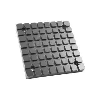 Gummiauflage Gummiteller Hebebühne 119 x 119 mm eckig für Bendpak