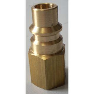 Flaschenanschlussadapter für Kältemittelflaschen R1234yf Honeywell, HD- seitig