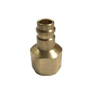 Flaschenanschlussadapter für Kältemittelflaschen R1234yf universal, ND- seitig