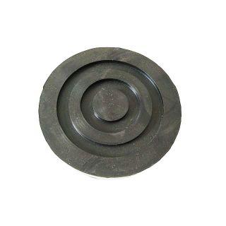 Gummiauflage Gummiteller für Rangierwagenheber D: 115/120 -30 mm; konisch