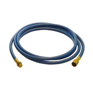 ND-Befüllschlauch, 7,5 mtr. F 1/4 SAE  auf M1234yf, blau