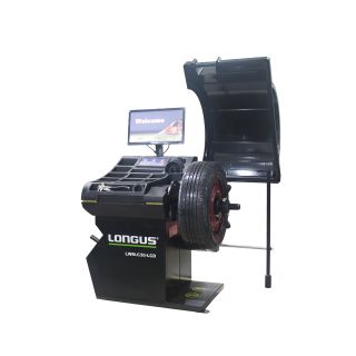 Radwuchtmaschine Radwuchtgerät Wuchtmaschine PKW Longus LWM-C30-LCD
