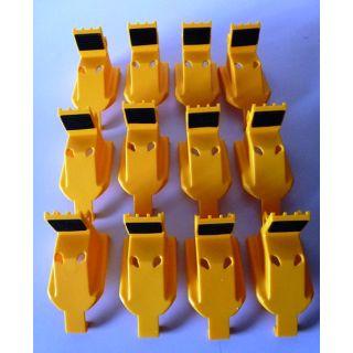 Gleitstück Schutz für Klauen- Außenseite Montiermaschine Corghi 1 Satz= 12 Stück