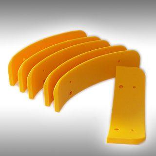 Kunststoffschutz für Abdrückschaufel (1 Satz = 6 Stück)